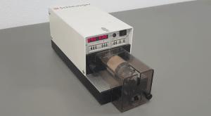 petronics Schleuniger Coax strip machine